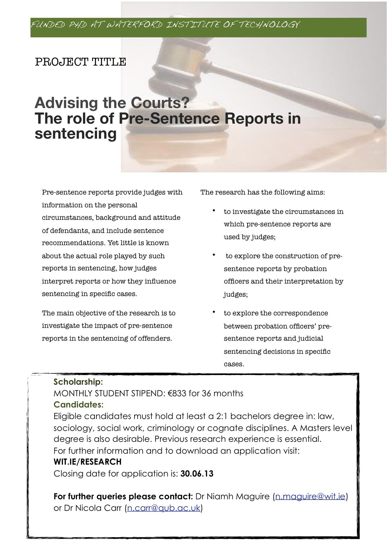 WIT_PhD_PSR Study